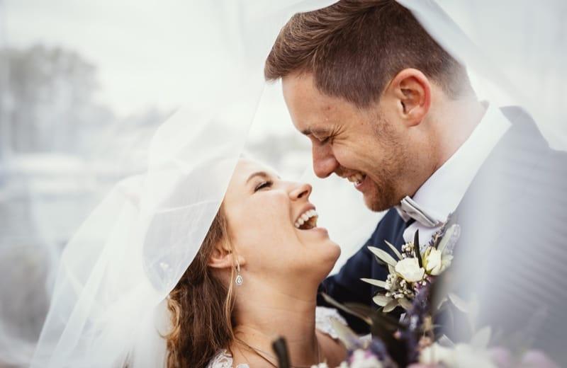 Hochzeitsfotograf München Schleier