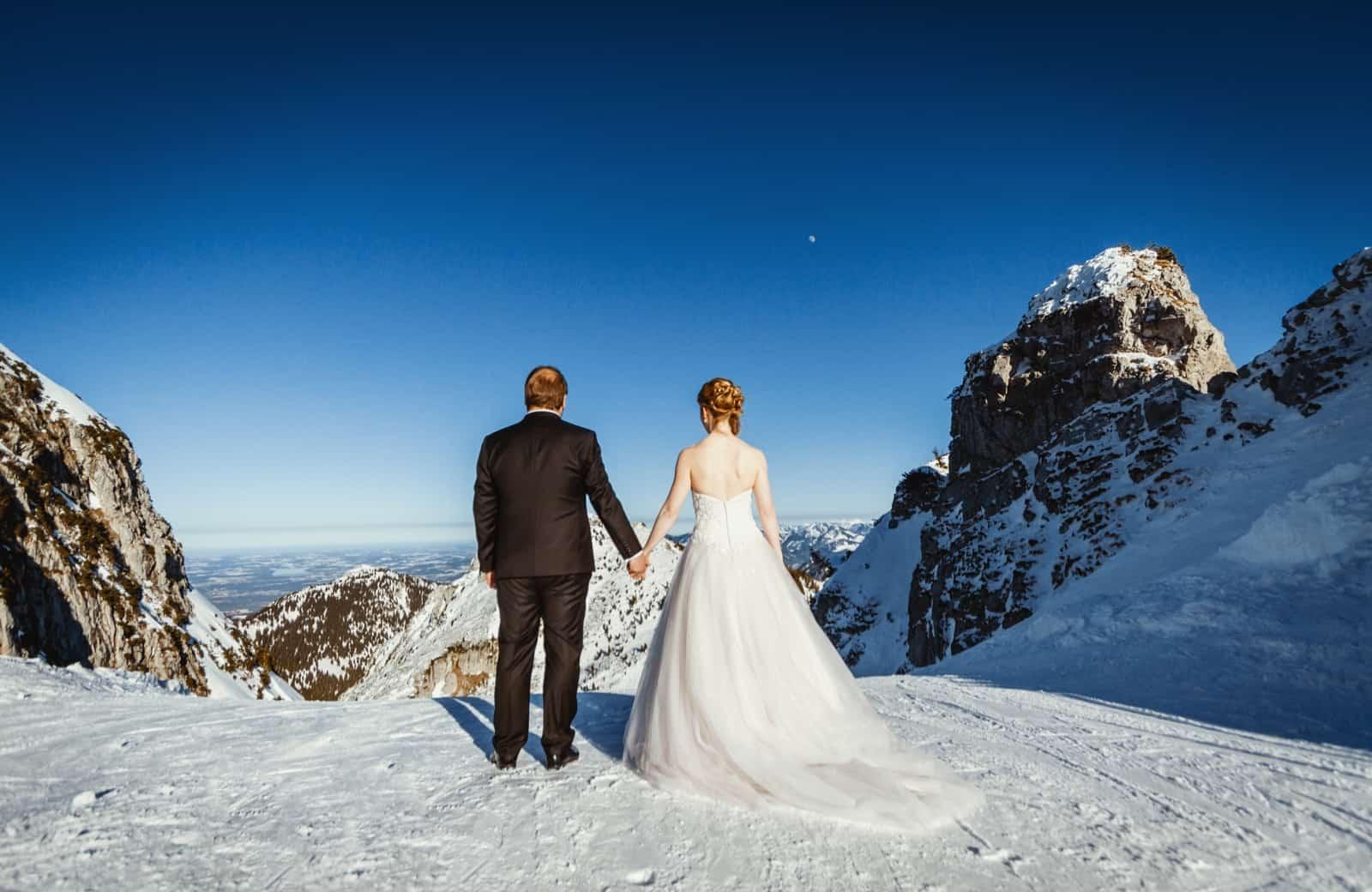 Berghochzeit Wendelstein Hochzeitsfotos